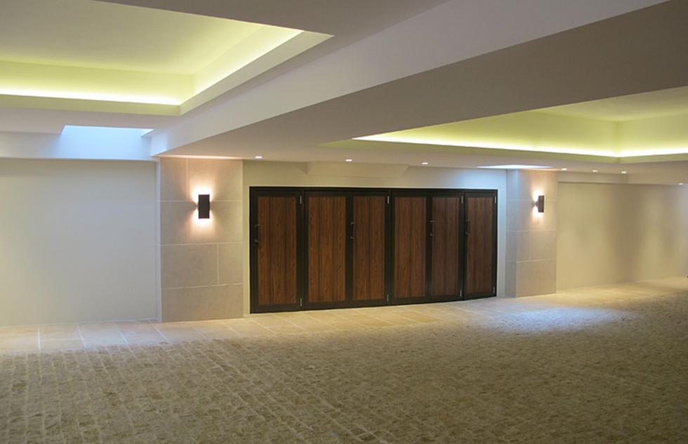 Luxury garage storage