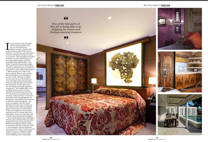 Claire rendall interior design Better Homes Dubai 2