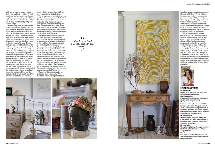 Claire rendall interior design Better Homes Page 3