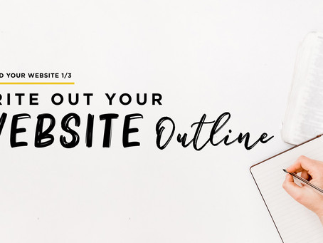Write Out Your Website