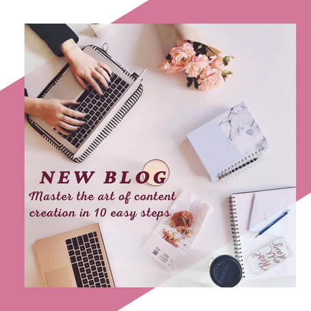 Master the art of content creation in 10 easy steps