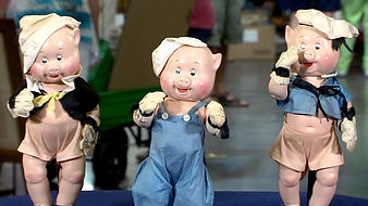 Madame Alexander  Three Little Pigs  Dol
