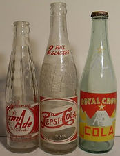 Pepsi Tru Ade Royal Crown Cola Vintage 1