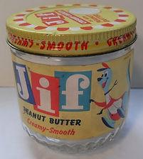 JIF Peanut Butter Jar Vintage 1960s.jpg