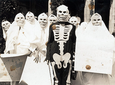 Creepy Halloween Costumes from bewteen 1