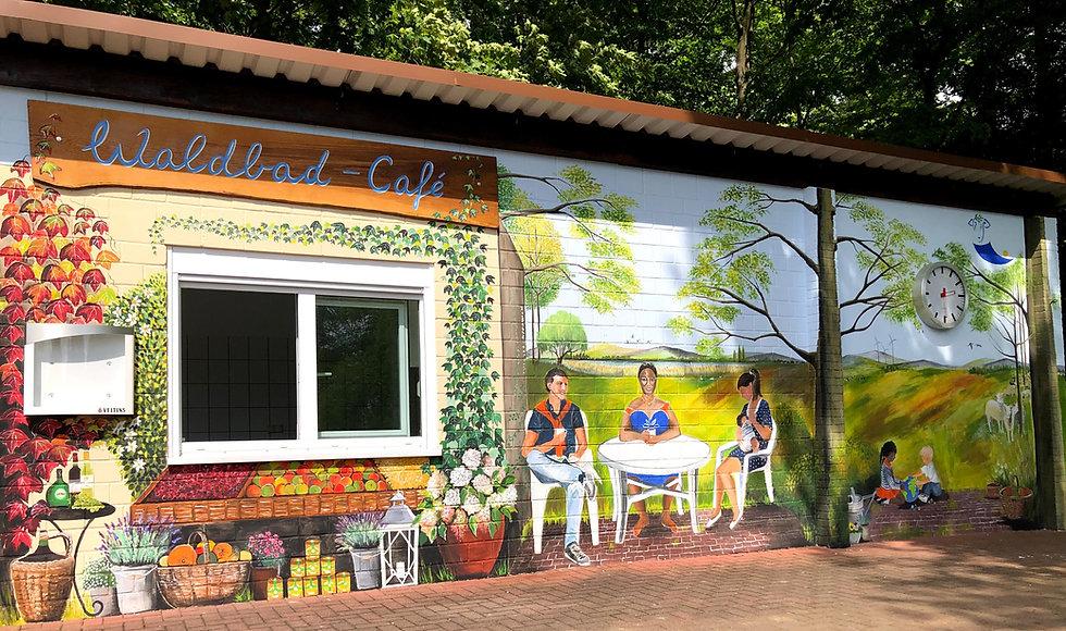 Waldbad-Café Bild