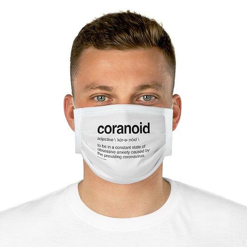 'Covidiot' Cotton Face Mask