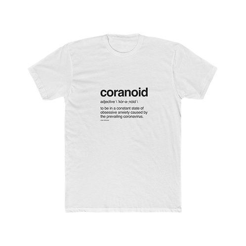 'Coranoid' Men's Cotton Crew Tee