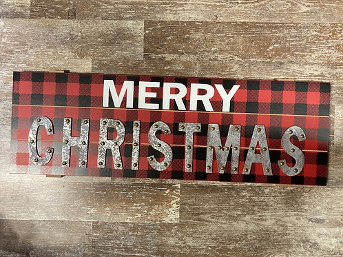 """28.75"""" x 9.25"""" Wooden Sign"""