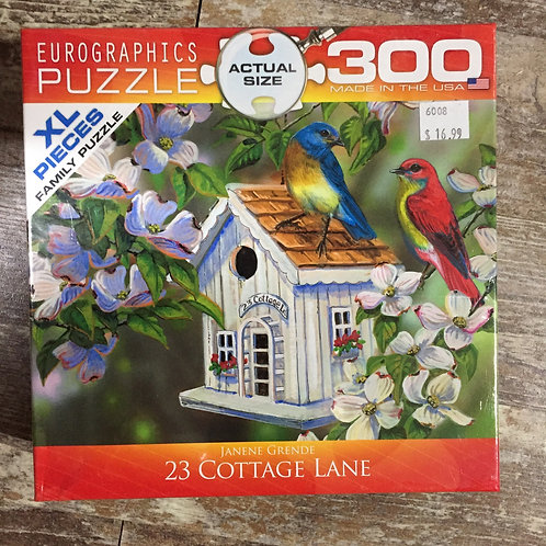 23 Cottage Lane - 300 Piece Puzzle