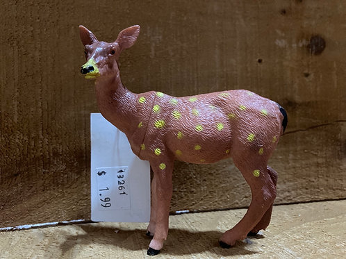 "4"" x 4"" Plastic Deer Toy"