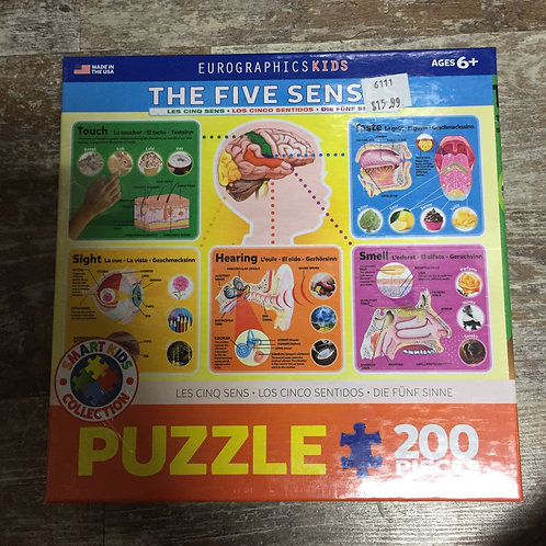 200 Piece Eurographics Puzzle