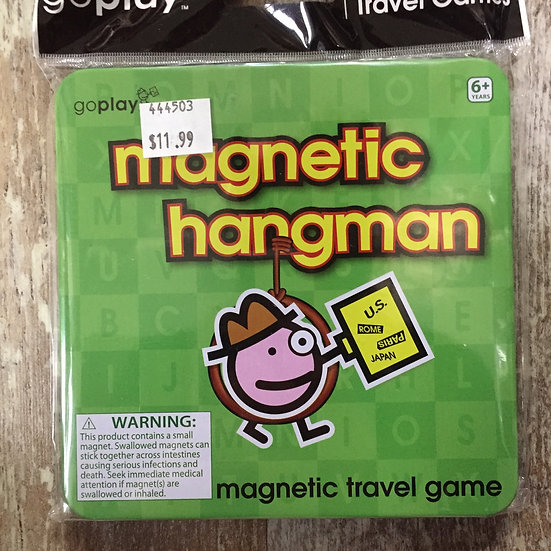 Magnetic Travel Games in Tin