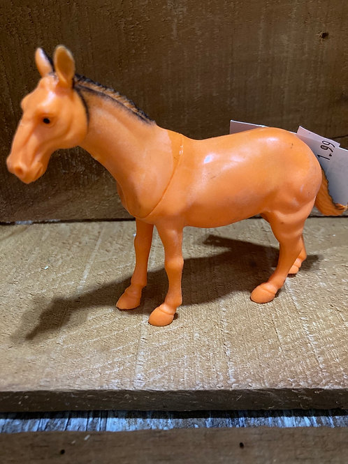 """5"""" x 3.5"""" Plastic Horse Toy"""