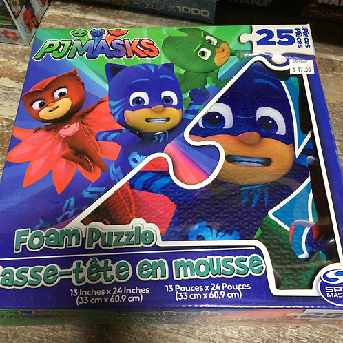 PJ Masks 25 Piece Foam Puzzle