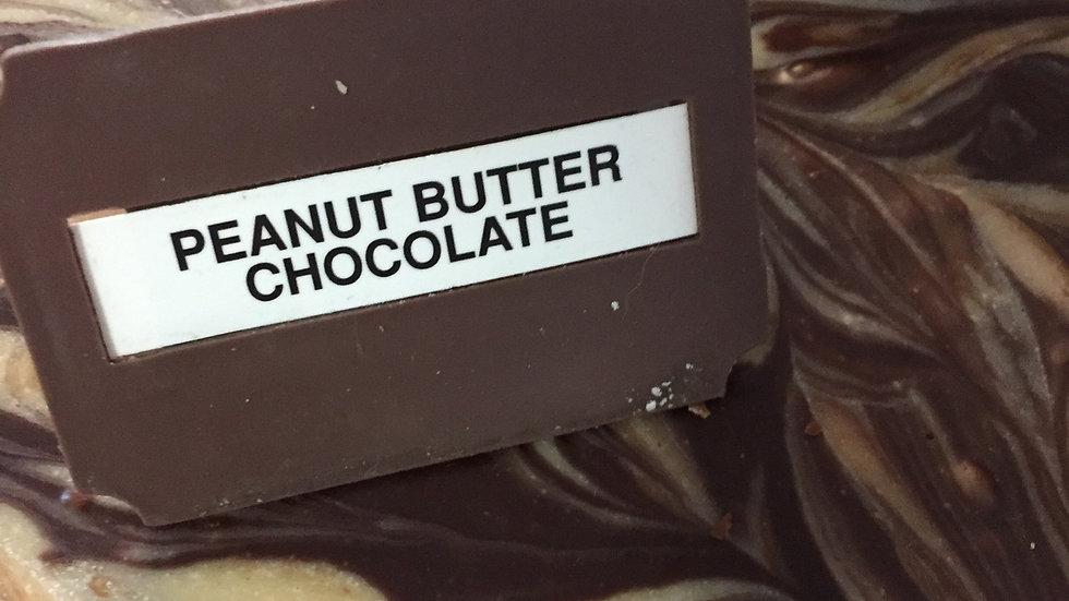 WFCS Peanut Butter Chocolate Swirl Fudge