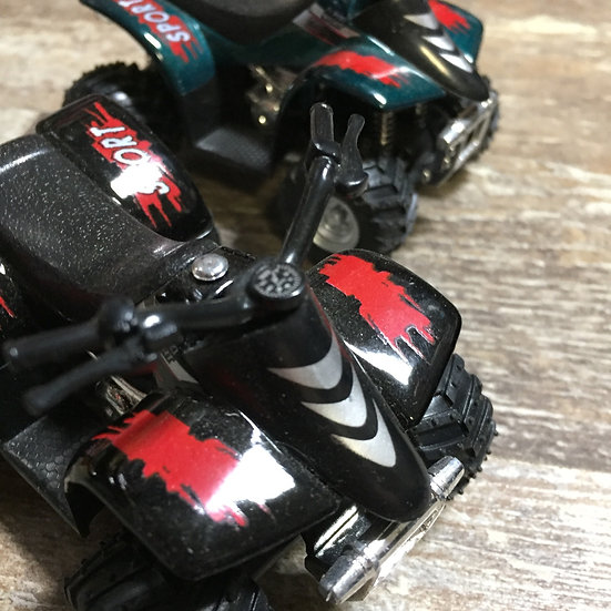 Pull Back Four Wheeler Toy