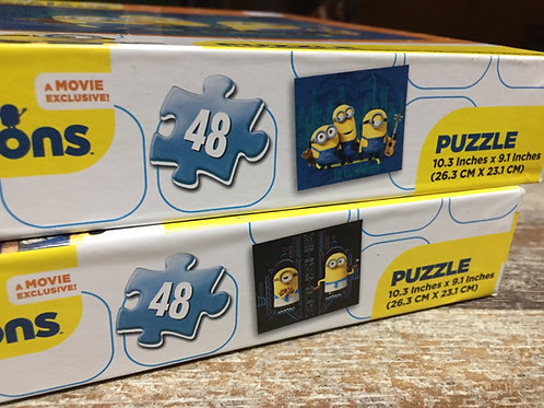 "48 Piece ""Minion"" Puzzles"