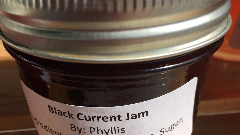 Phyllis's Black Currant Jam (125 ml)