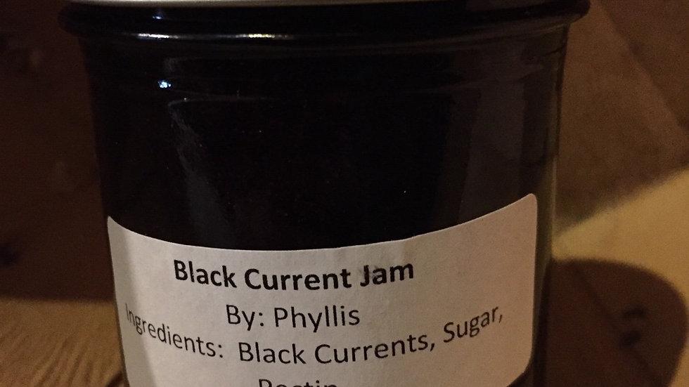 Phyllis's Black Currant Jam (250 ml)