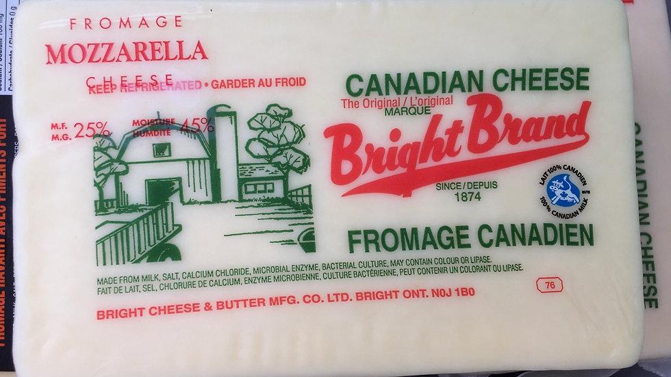 WF- Bright Cheese - Mozzarella 1lb