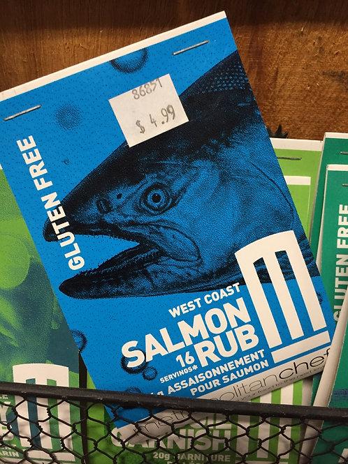 Metropolitan Chef Salmon Rub Seasoning