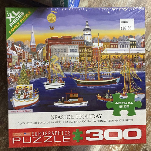 Seaside Holiday - 300 Piece Puzzle