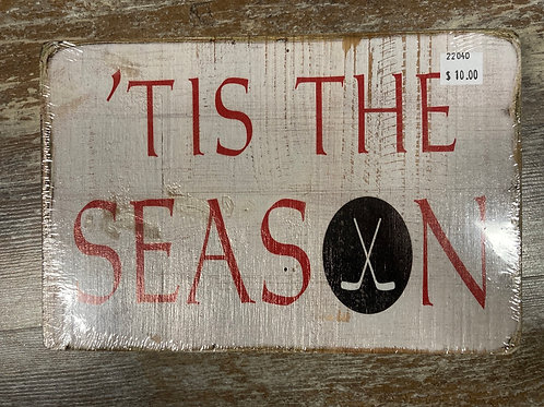 """9.75"""" x 6.5"""" Wooden Sign"""