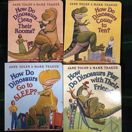 How do Dinosaurs? Board Books - Jane Yolen and Mark Teague