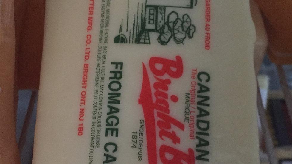WF Bright Brand Extra Old White Cheese per lb
