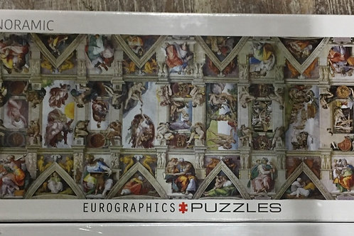 Sistine Chapel - 1000 Piece Panoramic Puzzle