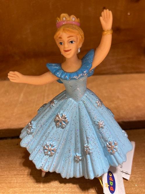 "4"" x 3"" Plastic Skating Princess Toy"