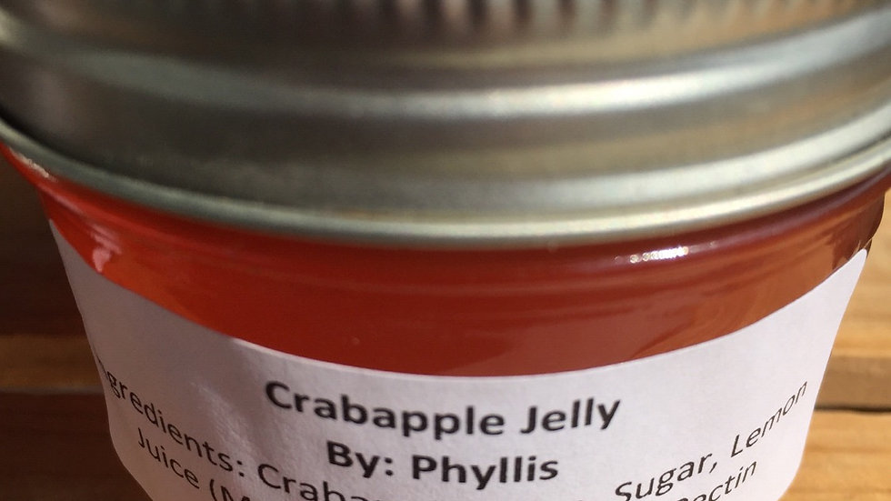Phyllis's Crabapple Jelly (125 ml)