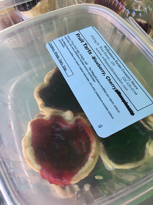Fruit Tarts Mixed 3 pk