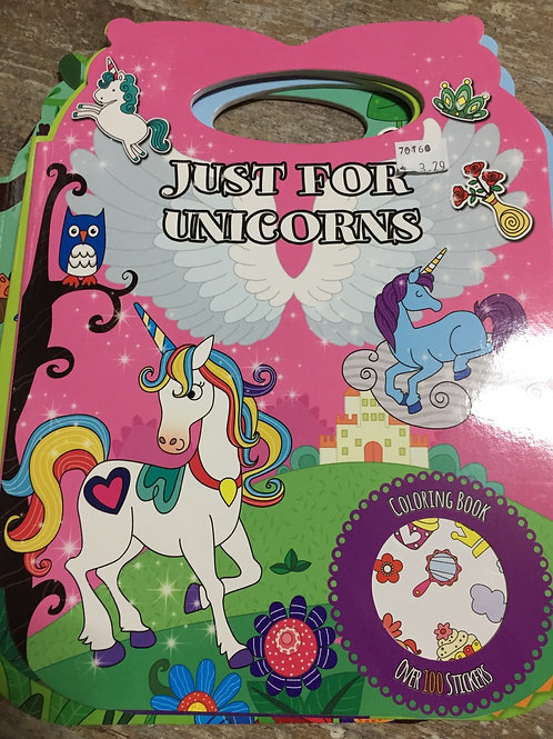 """""""Just For"""" Sticker and Colouring Books"""
