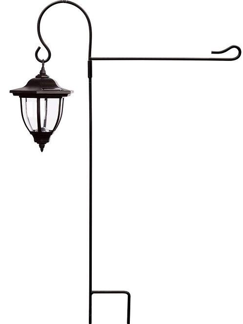 """30"""" x 14"""" Garden Lantern Flag Stake"""