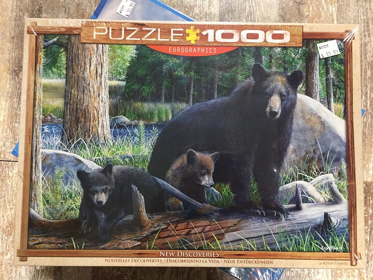 New Discoveries - 1000 Piece Puzzle