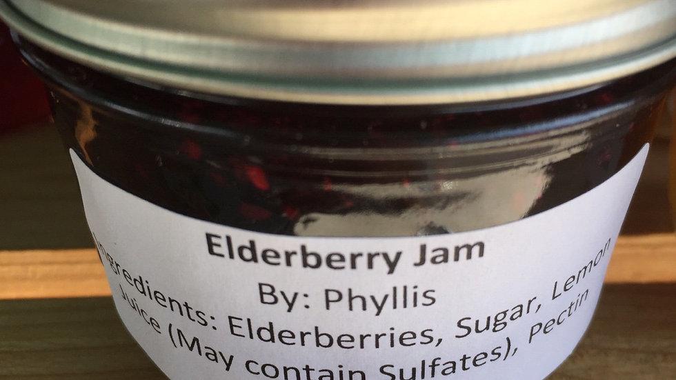 Phyllis's Elderberry Jam (125 ml)