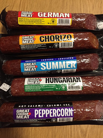 Great Canadian Meat Dry Sausage or Salami