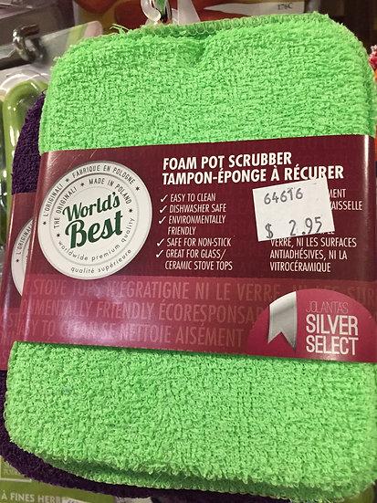 Foam Pot Scrubber