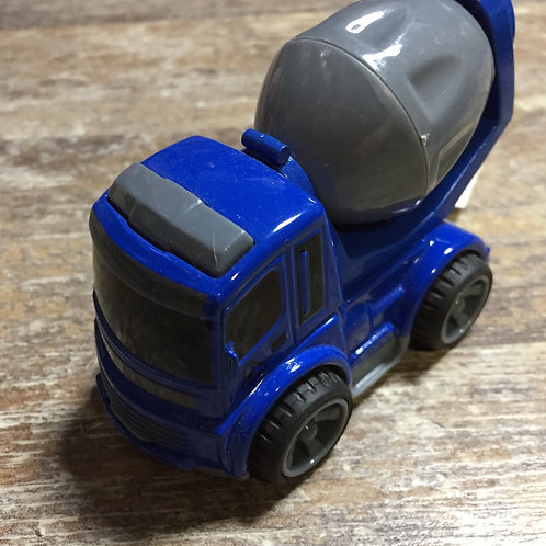 """Toy Cement Truck 3.5"""""""