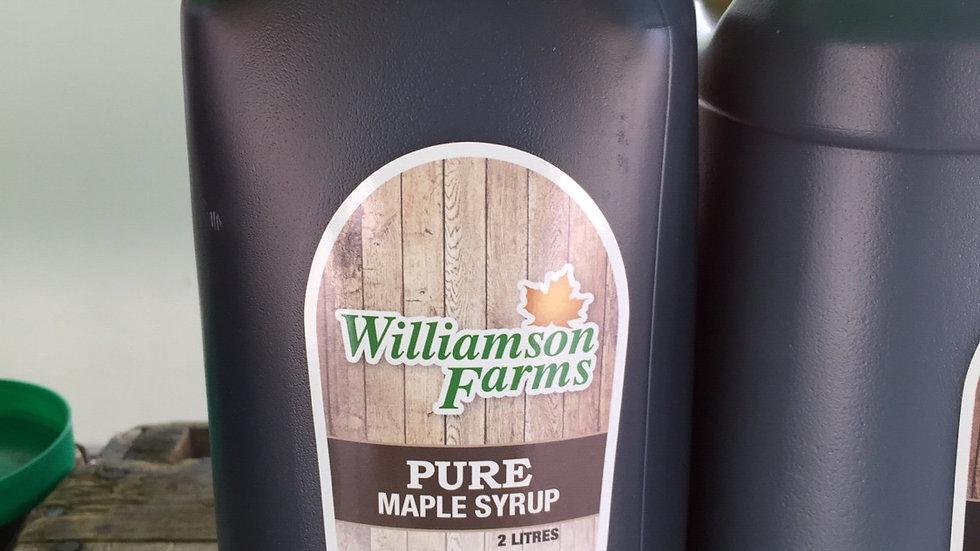 WF- 2L Maple Syrup - Farmgate Plastic