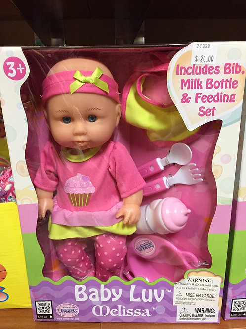 Baby Luv Melissa Doll