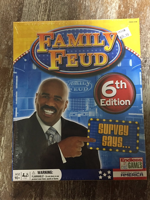 6th Edition Family Feud Game