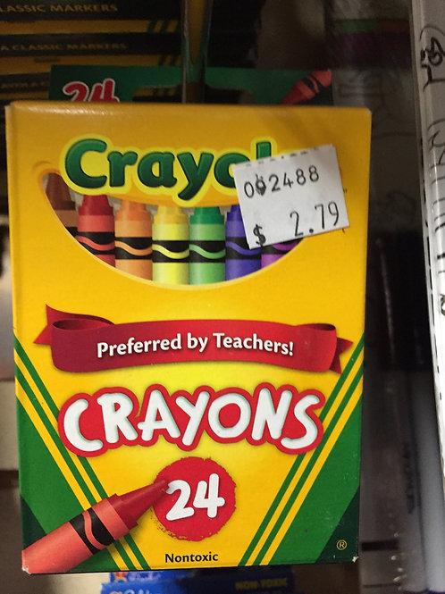 24 Crayola Crayons