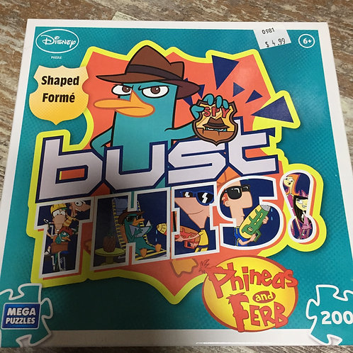 200 Piece Perry the Platypus Puzzle