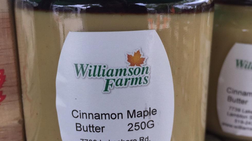 WF Cinnamon Maple Butter (250g)