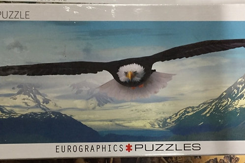 The Eagle - 1000 Piece Panoramic Puzzle