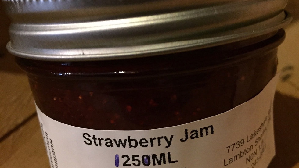 Phyllis's Strawberry Jam (125 ml)