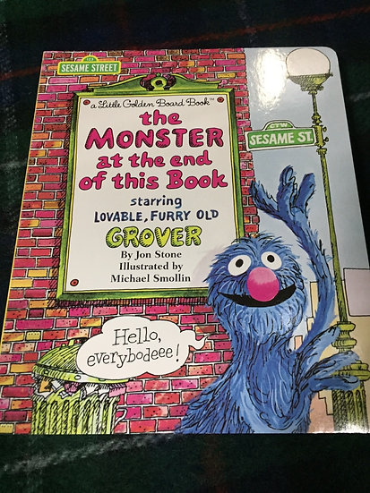 The Monster at the End of this Book - Jon Stone
